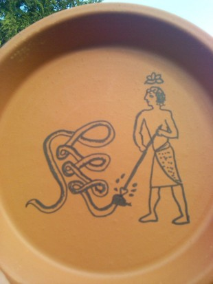 Antinous Execration Pot