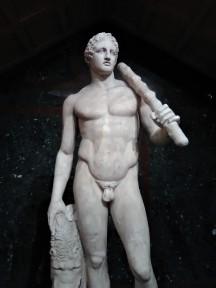 Statue of Hercules (Lansdowne Hercules): Hadrian's Villa, Tivoli, Italy, c. 125 C.E.