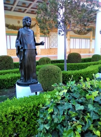 Getty Villa - Priest