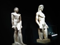 4 - Two Kouros Statues