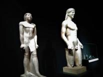 4 - Two Kouros Statues